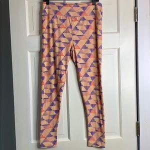 LuLaRoe multi-colored leggings TC NWOT